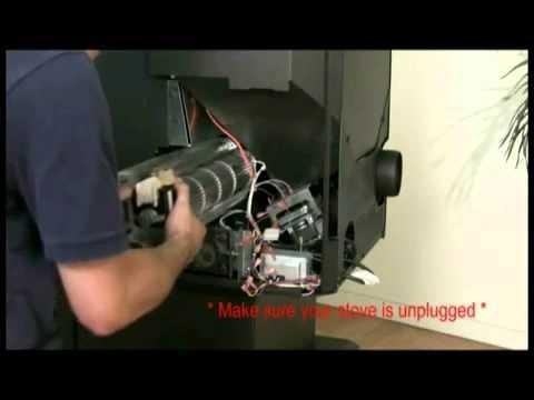 Enviro Pellet Stove Convection Fan Replacement M55 Youtube