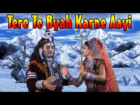 Tere Te Byah Karne Aayi    Superhit Haryanvi Shiv Bhajan    Album : Bhole Ki Ronak Sonak [full Hd] video