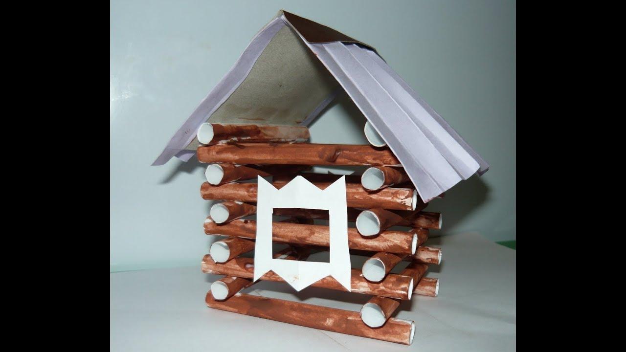Как сделать домик для поделки 39