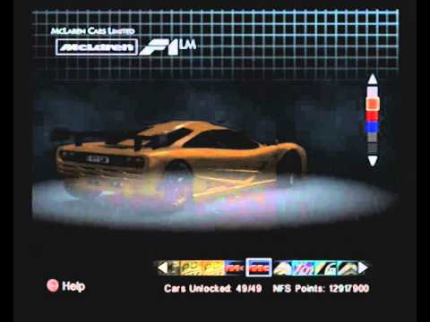 NFS Hot Pursuit 2 100 Complete: All Cars & Maps Unlocked