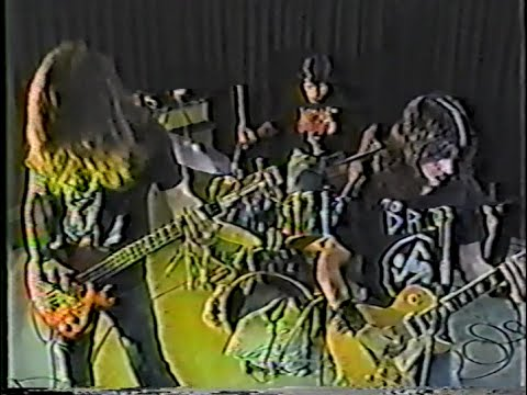 Hellwitch - TV interviews and live performance, 1987