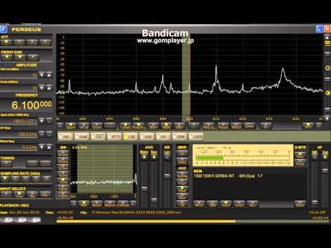 6100 kHz Radio Serbia Itn. /June 28,2015 1900 UTC