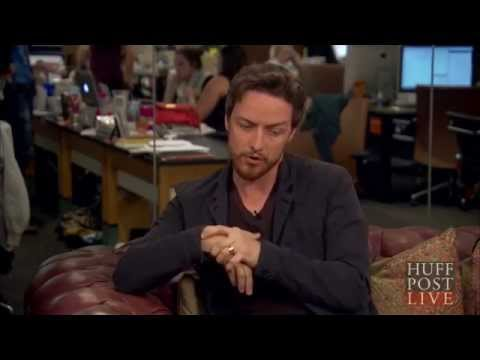 James McAvoy & me! - The Disappearance of Eleanor Rigby (HuffPost Live)