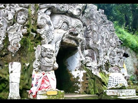 GOA GAJAH - Elephant Cave in Bali - Tourism Destination Indonesia [HD]