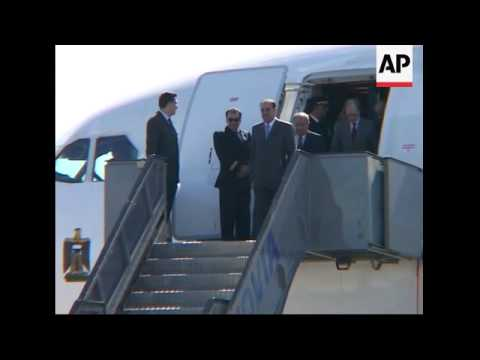 Iraq PM Nouri al Maliki arrives for Iraq conference