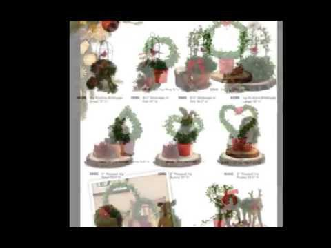 Holiday Decorating with Live Topiaries Plants & More!