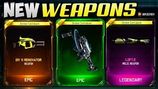 NEW DLC WEAPONS!! - BLACK OPS 3 SUPPLY DROP OPENING (BO3 NEW SMG, CHAINSAW & ROBOT ARM)