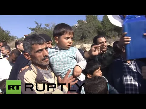 Syria: Russia delivers humanitarian aid in Latakia Province