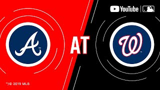 Braves at Nationals | MLB Game of the Week Live on YouTube