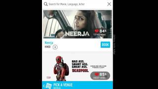 [हिंदी] How to book movie ticket online through BOOKMYSHOW