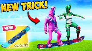 *NEW TRICK* 2 PLAYERS ON 1 HOVERBOARD! - Fortnite Funny Fails and WTF Moments! #521