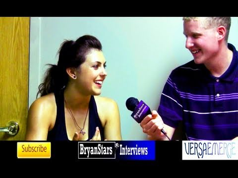 VersaEmerge Interview Sierra Kusterbeck Warped Tour 2010