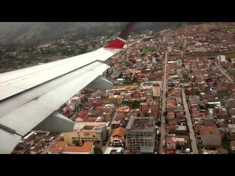 Aterrizaje al Aeropuerto VELASCO ASTETE - (CUZ) CUSCO - PERÚ