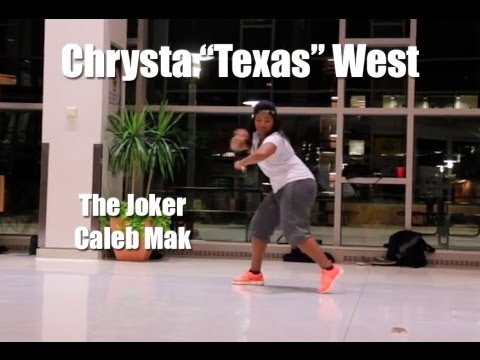 The Joker (caleb Mak) Choreo By Chrysta texas West | Rhythm Addict Tv video
