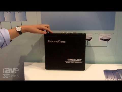 ISE 2015: Tricolor Explains SmartKake Media Multi Display Processor