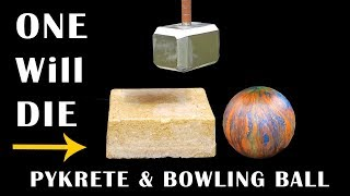 THORS HAMMER v BOWLING BALL & Pykrete - Episode 10 - BrainfooTV