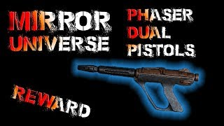 Mirror Universe 2017 Rewards, Phaser Dual Pistols - Star Trek Online