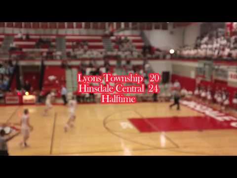 Hinsdale Central Boys' Basketball Highlights vs. Lyons Township