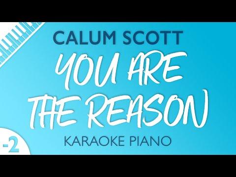 Download Lagu  You Are The Reason LOWER Piano Karaoke Calum Scott Mp3 Free