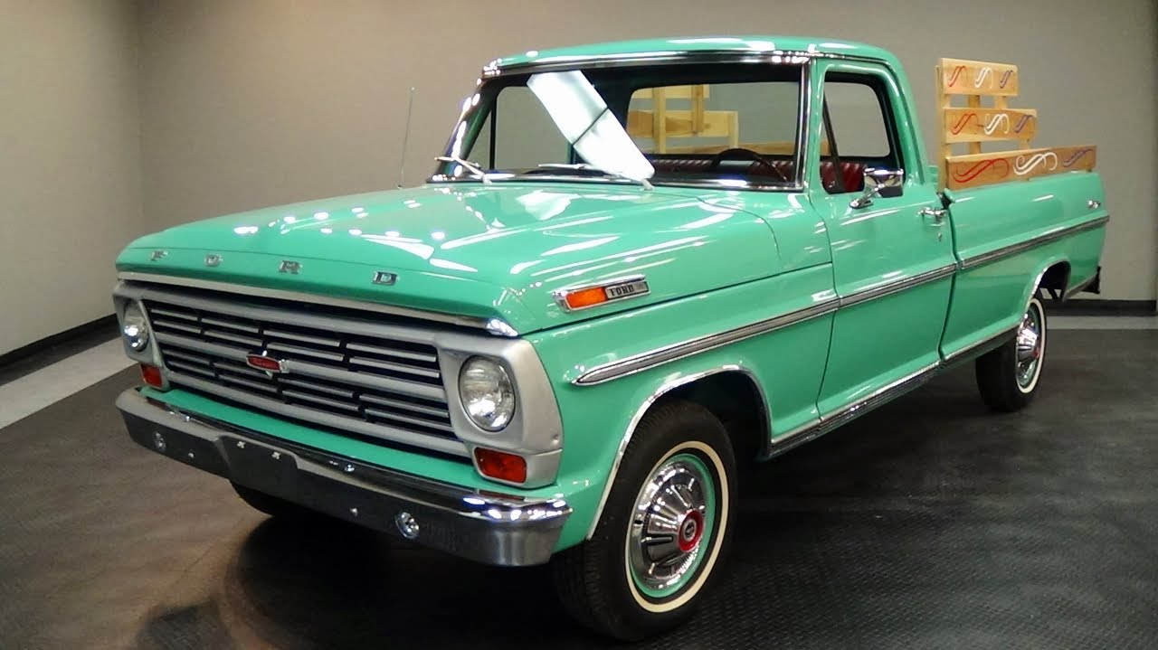 1969 Chevy Truck For Sale >> 1968 Ford F100 Ranger 360 V8 Fresh Restoration Very Nice - YouTube
