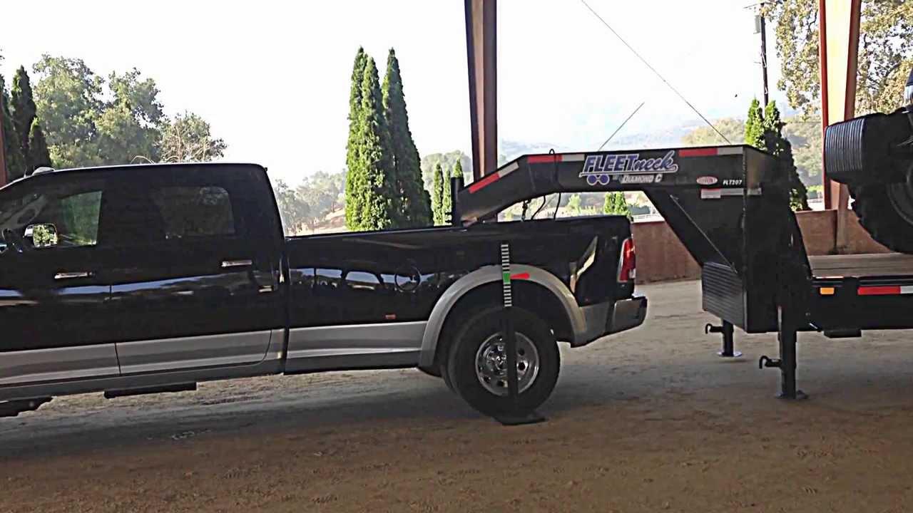2014 RAM Trucks 3500 HD Air Suspension Demonstration - YouTube