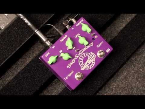 Cusack Tap-A-Delay Pedal Demo
