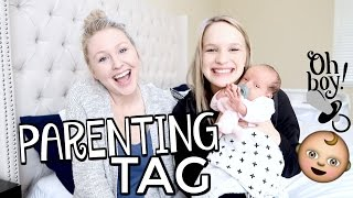 CONTROVERSIAL PARENTING TAG! | feat. Kbaby!