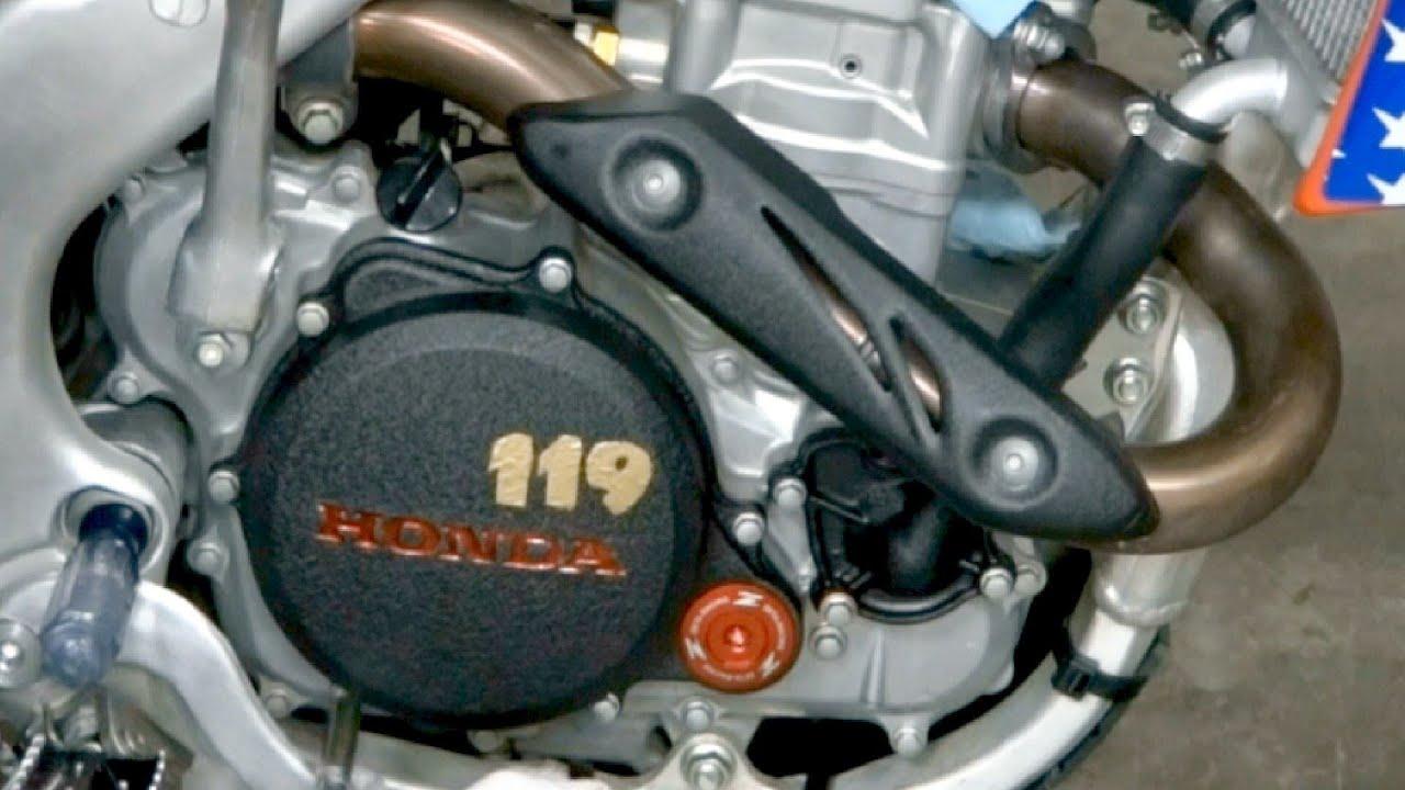 Honda Motorcycle Engine Paint