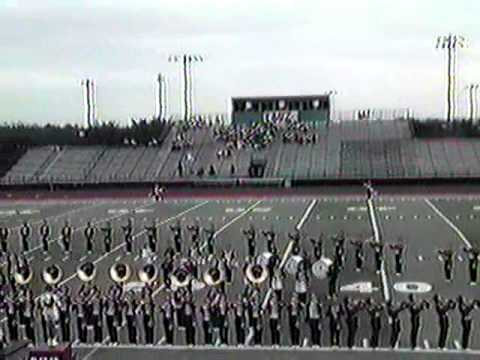 1986 Marching Band Contest Orange TX - Big Springs