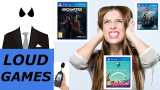 What is the loudest PS4 game in the world? - 3 contenders tested - noisiest game revealed!