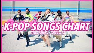 (TOP 100) K-POP SONGS CHART | JULY 2019 (WEEK 2)