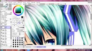Speed Paint Miku Hatsune