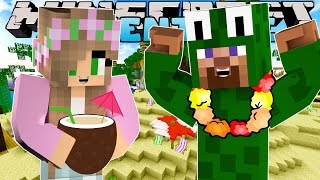 Minecraft - Little Kelly Adventures : SCHOOL GO ON VACATION! w/ Little Carly