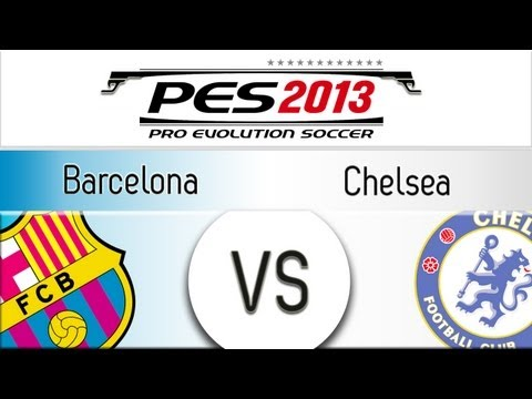 [ttb] Pes 2013 Barcelona Vs Chelsea - Playthrough Commentary, Pc Patch video