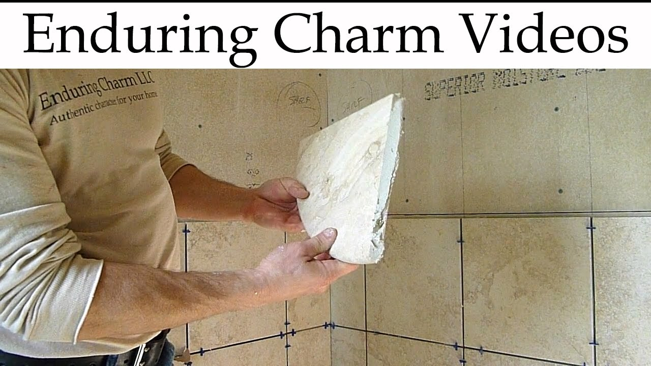 How to Tile a Corner Shower Unit