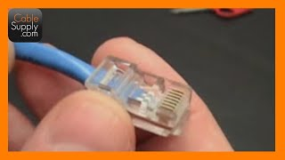 How to make a Cat5e Network/Ethernet Cable