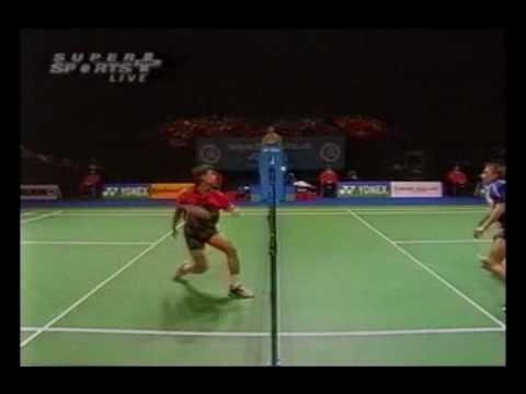 Shots in Badminton Badminton Net Shot Compilation