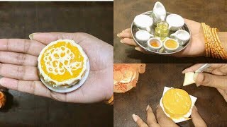Miniature Orange Cake Recipe | Tiny Cake | Mini Cake Baking for Lilliput | healthy food recipe |