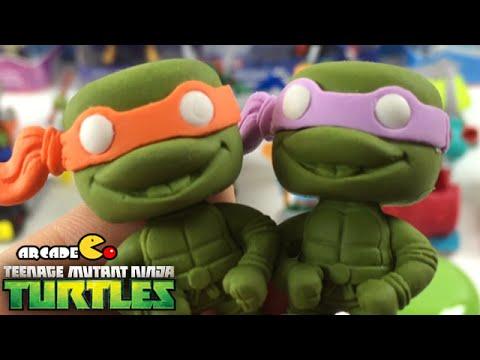 Nickelodeon Teenage Mutant Ninja Turtles Erasers Pencil Box Stickers video