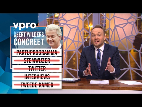 Geert Wilders concreet - Zondag met Lubach (S06)