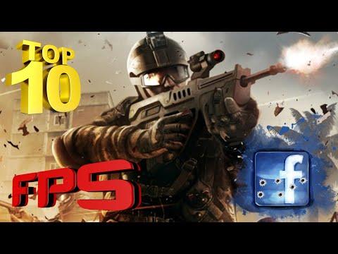 Top 10 FPS jogos do facebook