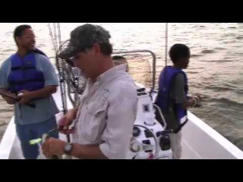 East Texas Fishing with Mike Weeks - TOP WATER ACTION on Lake Palestine
