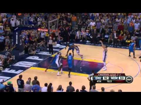 NBA Playoffs 2013: Oklahoma City Thunder Vs Memphis Grizzlies Highlights May 13, 2013 Game 4