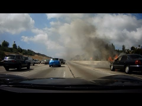 405 - Episode 6 - How to Avoid a Speed Trap - Waze - Burning Car