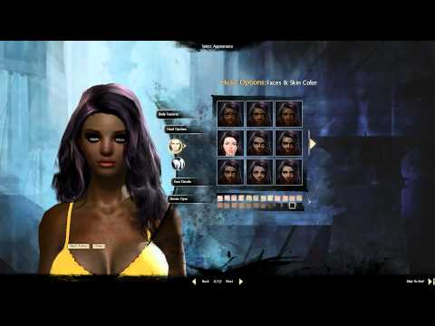 Guild Wars 2 - Character Creator Human Female
