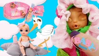 Baby Born Surprise | Unwrap and Reveal Baby Doll | Water Reveals Eyes and Color Change Diapers