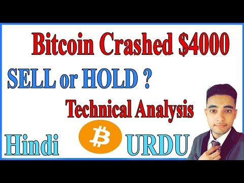 Bitcoin Crashed $4000 in 1 Hour - Will it Go Down More ? HOLD or Sell ? Watch to Know - Hindi / URDU