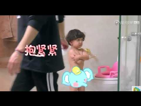 (GOT7) Jackson Wang with Haohao & MeowMeow (Let me go of my baby cut) subtitle