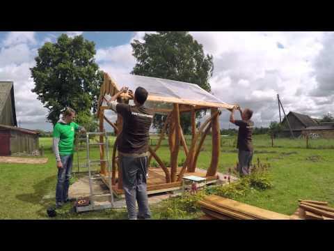Pavillon - Gartenlaube``Rustikal`` Bauen