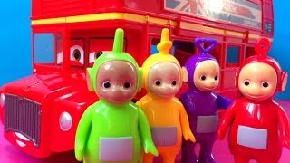 Teletubbies and Cars 2 Bus Kids Toys